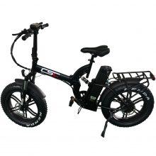 Electric Bike of 48V 500W Motor Fat Bike Folding Bicycle For Adults Speed Bike E Bike With 48V Battery Pack 18650 Ebike Battery