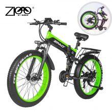 ZPAO Fat Bike Electric Bicycle e Bike1000W Foldable Electric Bikes Bicicleta Eletrica 26Inch 4.0 Fat Tires Mountain e-bike