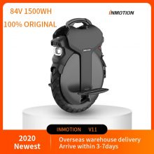 2021  hottest INMOTION V11 Adult electric unicycle One wheel bike Scooter Electric wheels motow 2000W 84V/1500wh,Headlight 18W