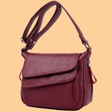 Winter Style Soft Leather Luxury Purses And Handbags Women Bags Designer Women Shoulder Crossbody Bags For Women 2020 Sac A Main